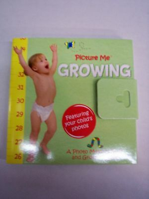 Growth Chart, Picture Me Growing, A Photo Memory Book & Growth Chart, Brand New