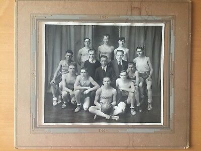 RARE VINTAGE EARLY HIGH SCHOOL SPORTS: Cooney Basketball Team Photo - Circa 1920