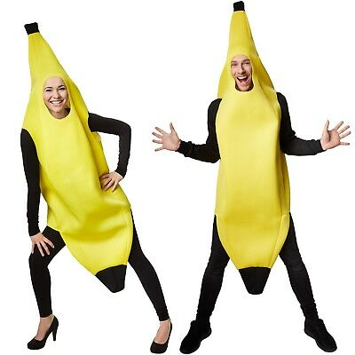Banana Costume Fruits Vegetable Carnaval Halloween Fancy Dress Outfit Adult Fete  sc 1 st  PicClick UK & BANANA COSTUME FRUITS Vegetable Carnaval Halloween Fancy Dress ...