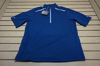 NEW Under Armour Golf  Pullover Mens Size Large  Navy 85b