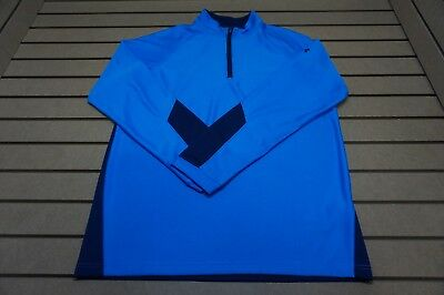 NEW Under Armour Golf  Pullover Mens Size Large  Blue 85b