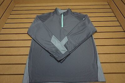 NEW Under Armour Golf  Pullover Mens Size Large  Grey 85b