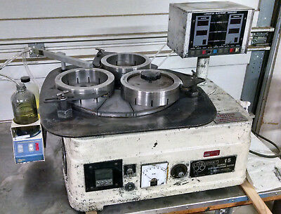 Lapmaster 15 - Variable Speed with New Lapping Plate and Conditioning Rings!