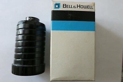 "Bell & Howell 2-1/2"" f3.5 Slide Cube Projector Lens Lumina Opt Sys-made in Japan"