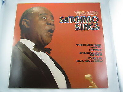 Louis Armstrong & Orchestra: Satchmo Sings (MCA Coral 1973) – top Zustand