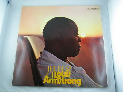 2 LPs Louis Armstrong: The Best Of (MCA 1972) – top Zustand