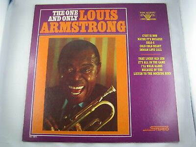 Louis Armstrong: The One And Only – top Zustand (MCA CORAL 1973/Vocalion/Decca)