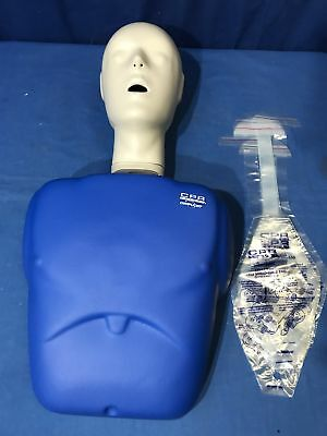White Complient Cpr Prompt Adult Manikin First Aid Training Nursing Emt Aed