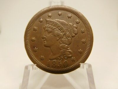 1850 US Large Cent Extra Fine