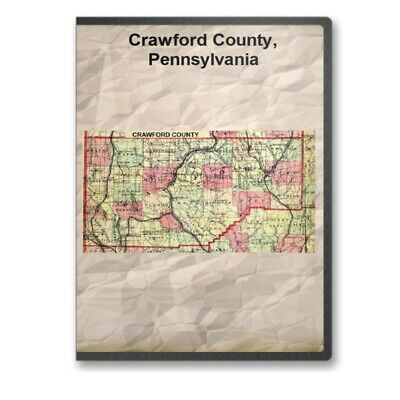 Crawford County Pennsylvania PA History Culture Genealogy 6 Books - D379