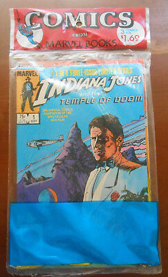 Indiana Jones and the Temple of Doom Marvel 3 multi pack sealed