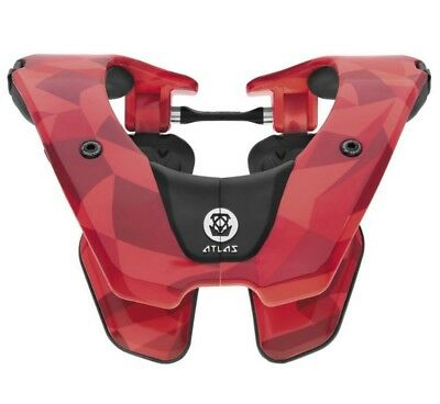 Atlas Brace Tyke Youth Neck Brace Fire Prism Red