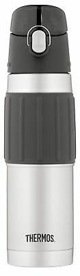 Thermos Vacuum Insulated 18 Ounce Stainless Steel Hydration Bottle, Stainless...