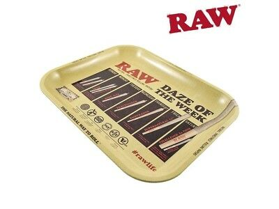 "RAW Daze Of The Week Rolling Tray (14"" x 11"") - 1 Tray-"