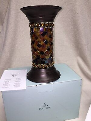 """Partylite - Global Fusion 9"""" Column - New in Box - Non-Smoking Home - Multicolor"""