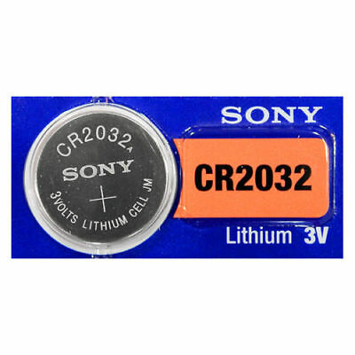 1 Pc New Fresh SONY CR2032 DL2032 CMOS Lithium 3V Watch Battery Exp 2027 USA