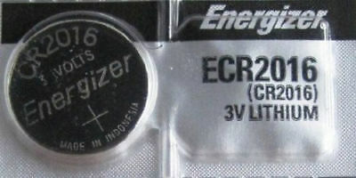 1 PC ENERGIZER CR2016 WATCH BATTERIES 3V LITHIUM CR 2016 Coin ECR2016
