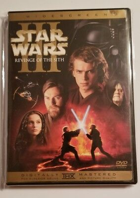 Star Wars Episode III: Revenge of the Sith 2-Disc Set Widescreen DVD Used