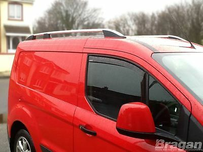 To Fit 14+ Ford Transit Tourneo Connect LWB Aluminium Alloy Roof Rails Rack Bars