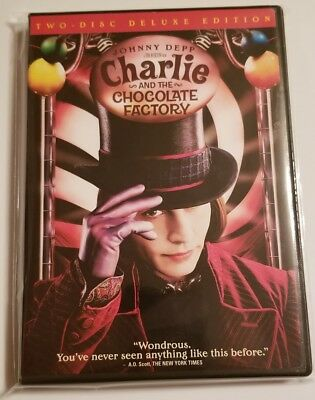 Charlie and the Chocolate Factory Two-Disc Deluxe Edition used DVD