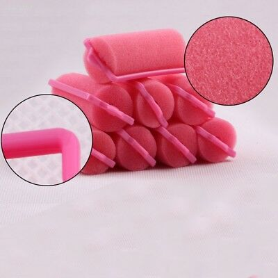 Fashion Perfect 12PCS Vintage Sponge Foam Hair Styling Rollers Curlers* D850