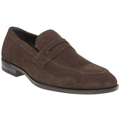 New Mens Red Tape Brown Avery Suede Shoes Loafers And Slip Ons On
