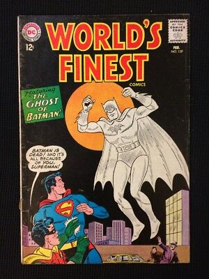 World's Finest #139 Silver Age 1964 Vg/Fn