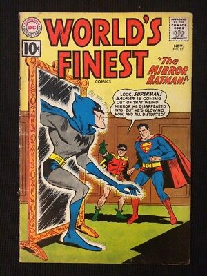 World's Finest #121 Silver Age Gd+ 1961