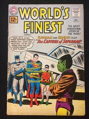 World's Finest #122 Silver Age 1961 Vg/Fn