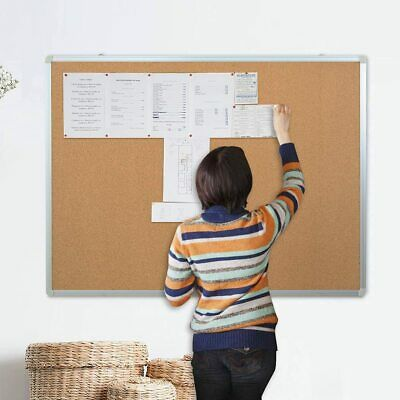 Corkboards Notice Board Pin Board 120X90cm 2 ways to install