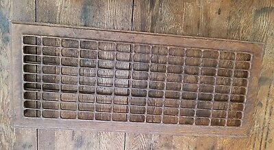 Two (2)Antique Metal Floor Registers/Grates