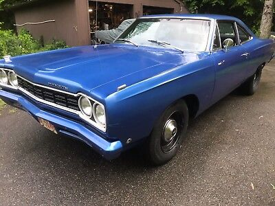 1968 Plymouth Road Runner 2 door post 1968 PLYMOUTH ROAD RUNNER 68 ROADRUNNER