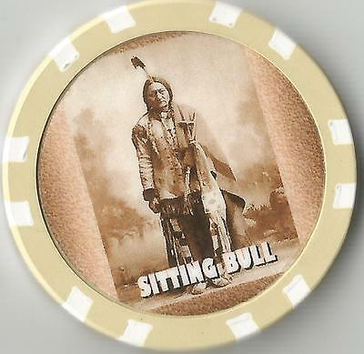 Sitting Bull   Collector  Chip Chief Of The Lakota Nation