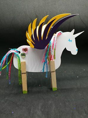 Unicorn craft kits. NEW - Multi packs available - kids parties - kids craft pack