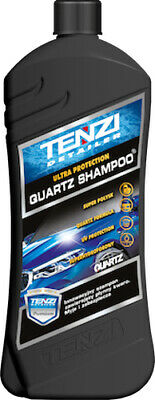 Tenzi Quartz Shampoo 600ml Shampoo with quartz Contains Quartz FREE microfibre