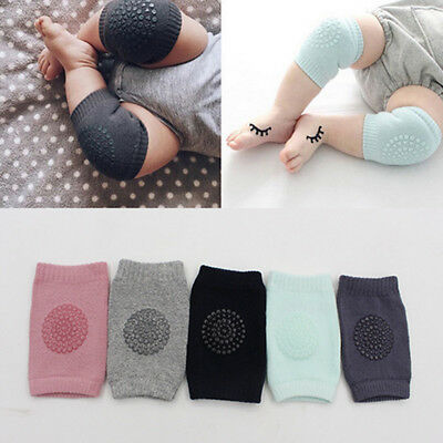 Baby Infant Crawling Elbow Knee Pads Anti-slip Walking Leg Protector Safety New