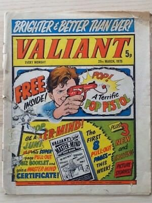 Valiant comic dated 29Mar75