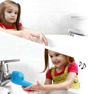 Baby Faucet Extender Animals Fountain Tap Sink Tubs Kids Hand Washing Bathing