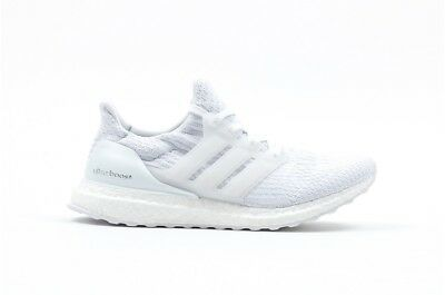 0549621a NEW Adidas Ultra Boost All White Triple White 3.0 Mens BA8841 Limited  Edition
