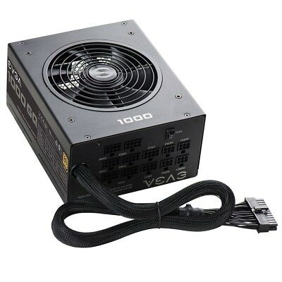 EVGA 1000GQ,80+GOLD 1000W,Semi Modular,EVGA ECO Mode,Power Supply 210-GQ-1000-V1