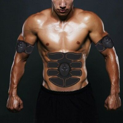 Ultimate ABS Simulator EMS Training Body Abdominal Muscle Exerciser Body Waist