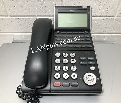 5x NEC DT300 DTL-24D-1A (BK) 24-Button Phones,SV8100 SV8300 Telephone System