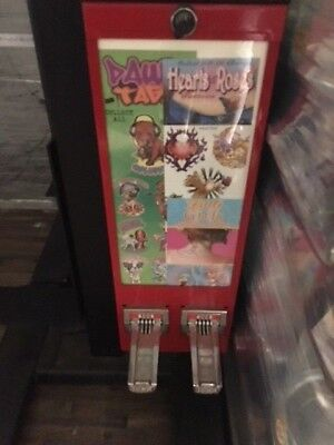 Tattoo Sticker bulk vending machine business Pokemon NFL Cards 2 Column