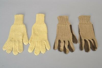 Foxhunting Ladies Approx. s4 Pair of 1960s' Riding Gloves by Millar. Ref IDU