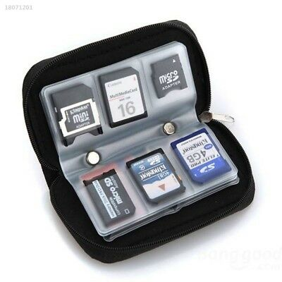 Memory Card Storage Case Protective Holder Wallet For CF SD XD 3DS Games 79F5