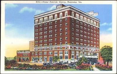 20018615 - Roanoke: Va., Hotel Patrick Henry,Asheville Post Card Co. USA,