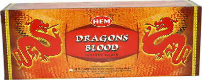 Hem DRAGON BLOOD Incense Bulk 6 x 20 Stick (120 Sticks)
