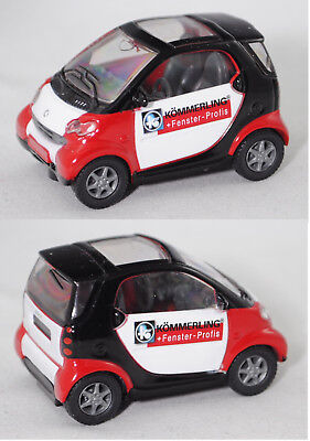 Siku Super 1067 smart fortwo coupé passion, KÖMMERLING®, ca. 1:50, Werbemodell