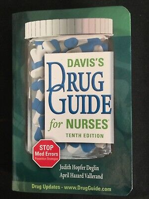 Davis's Drug Guide for Nurses, Tenth Edition 2007