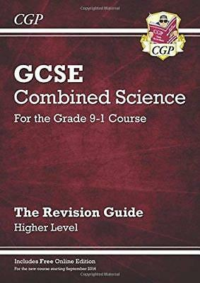 New Grade 9-1 GCSE Combined Science: Revision Gu by CGP Books New Paperback Book